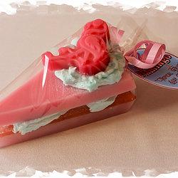 Flamingo Soap Cake
