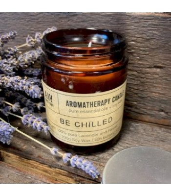 Be Chilled Aromatherapy Soy Wax Candle