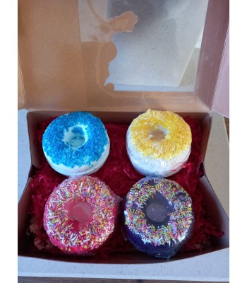 Donut Fizzing Bathbomb Gift Box