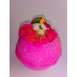 Love Spell Unicorn and Rainbow Bath Bomb