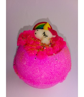 Love Spell Unicorn and Rainbow Bath Bomb