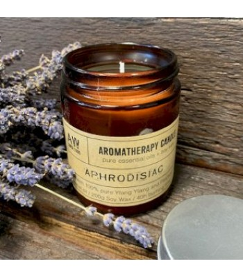 Aphrodisiac Aromatherapy Soy Wax Candle