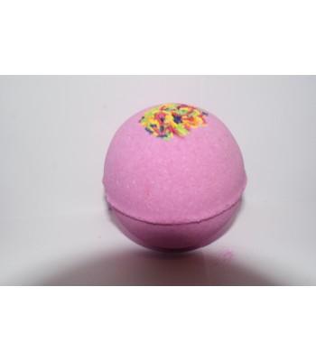 Raspberry Ripple Bath Bomb