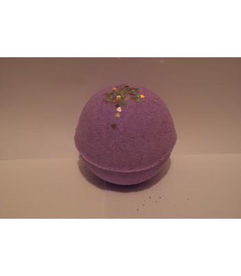 Parma Violet Glitter Bath Bomb