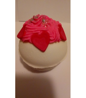 Romantic Hearts Bath Bomb