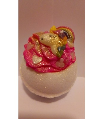Unicorn and Wishes Bath Bomb