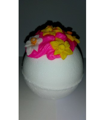 Daffodil and Narcissi Bath Bomb