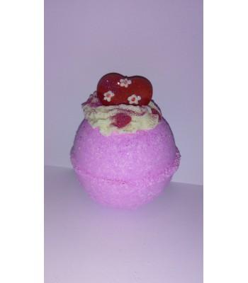 Princess with Hearts Dessert Bath Bomb Fizzer