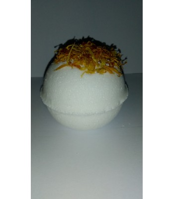 Calendula and Orange Oil Bath Bomb