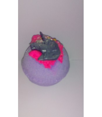 Parma Violet Christmas Star and Bauble Mystical Unicorn