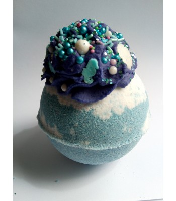 Seascape and Mermaid Bath Bomb