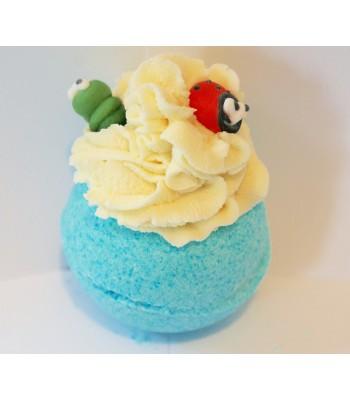 Mr Catterpillar and Ladybird Dessert Bathbomb
