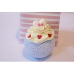 Princess with Hearts Fig Dessert Bath Bomb