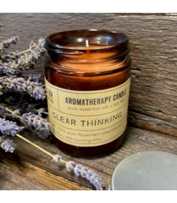 Clear Thinking Aromatherapy Soy Wax Candle