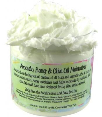 Avocado, Honey  and Olive Oil Moisturiser