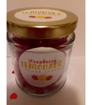 Strawberry Lemonade Sugar Scrub
