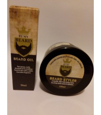Beard Styler and Beard oil