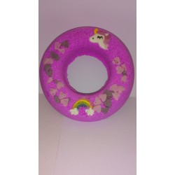 Unicorn and Rainbow Donut Fizzer