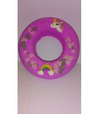 Unicorn and Rainbow Donut Fizzer