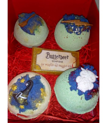 Harry Potter themed Bathbomb and Soap Gift Box