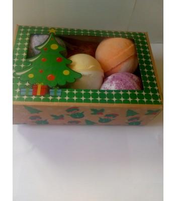 Jumbo Bathbomb Selection Christmas Gift