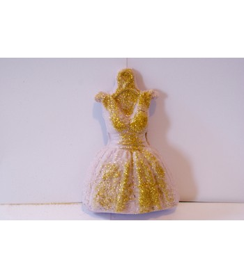 Lavender Glitter Party Dress Fizzer