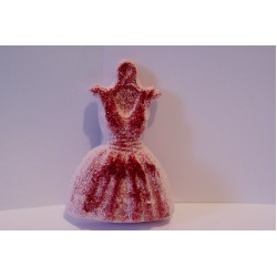 Strawberry Glitter Party Dress Fizzer