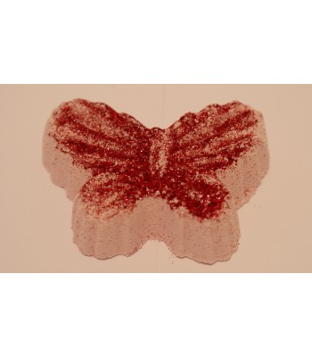 Strawberry Butterfly Fizzer